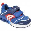 Pantofi sport GEOX albastri, B022PA, din piele ecologica