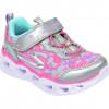 Pantofi sport SKECHERS multicolor, Heart Lights, din material textil