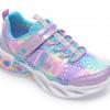 Pantofi sport SKECHERS multicolori, 302059L, din material textil si piele ecologica