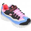 Pantofi sport SKECHERS multicolori, Ice Dlites Snow Spark, din piele naturala