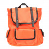 Rucsac CALL IT SPRING portocaliu, LION820, din material textil