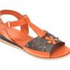 Sandale FLAVIA PASSINI portocalii, 143, din piele naturala