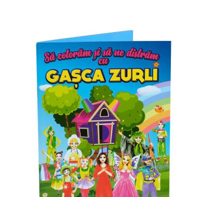 Carte de colorat Gașca Zurli