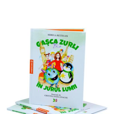 Carte Gașca Zurli în jurul lumii