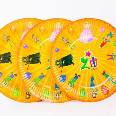 Set 12 farfurii accesorii party