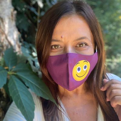 Mască Zâmbet, mască facială igienică adulți