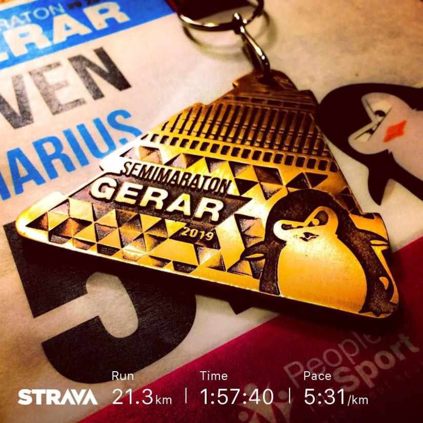Semimaraton Gerar 2019