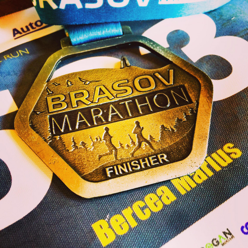 Brasov Maraton - proba semimaraton