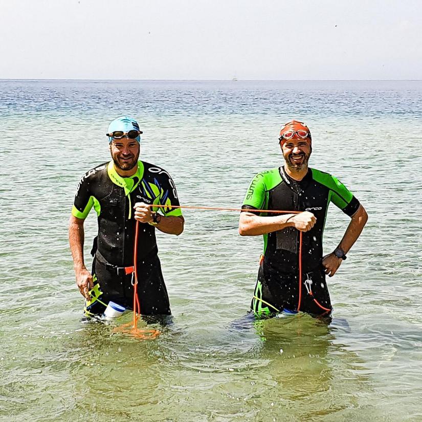 Un swimrun in Thassos