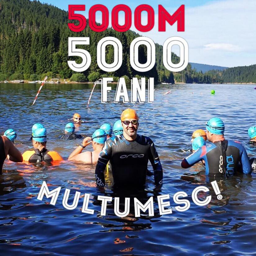 5000 de fani pe pagina de Facebook