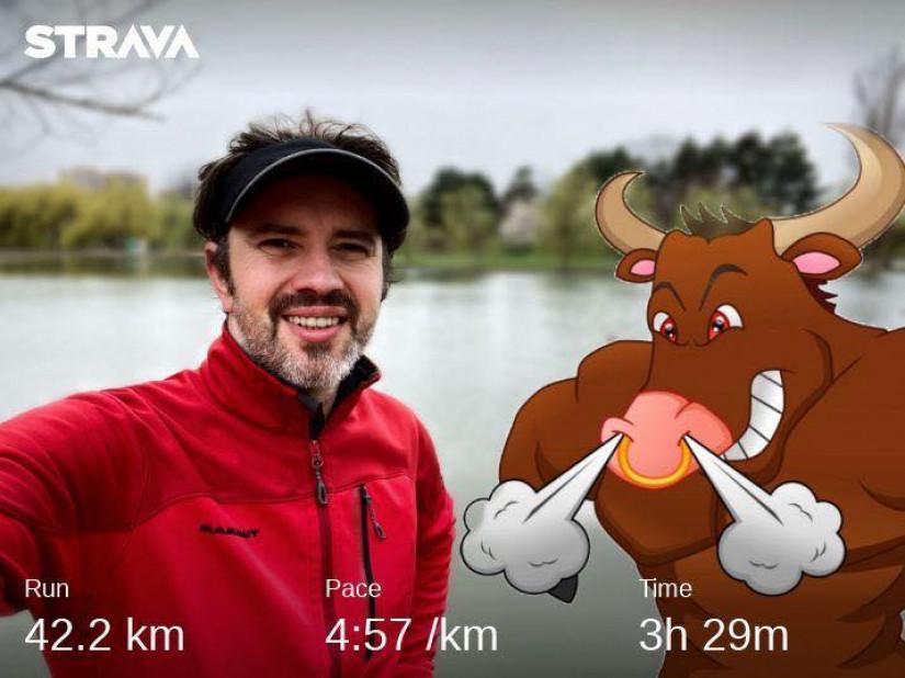 Maratonul de la Barcelona... alergat in IOR (Bucuresti)