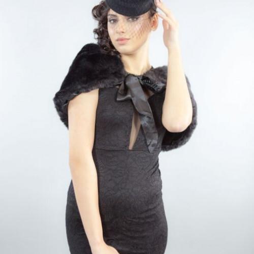 Capa de ocazie Carina, negru
