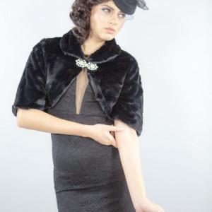 Capa ocazie Calipso, negru