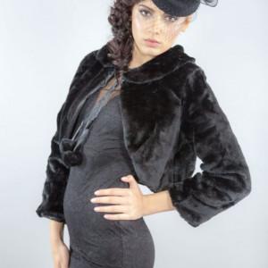 Capa ocazie Camelia, negru