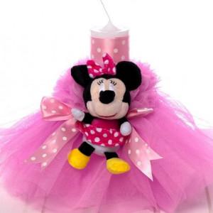 Lumanare botez fetite Minnie Mouse
