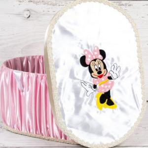 Cutie trusou de botez cu Minnie Mouse