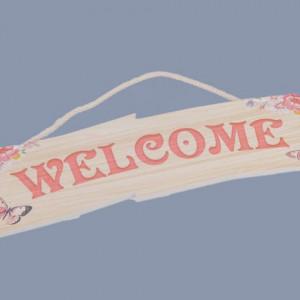 Decor nunta Welcome roz