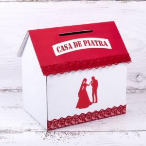 Casuta dar nunta rosie