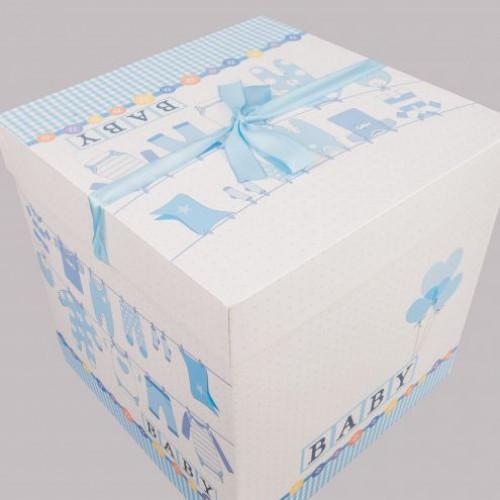 Cutie cadou Baby bleu