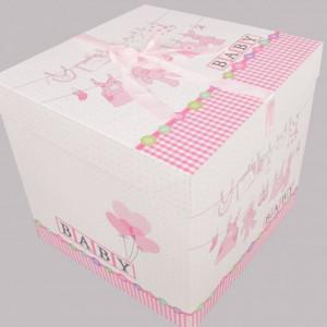 Cutie cadou Baby roz