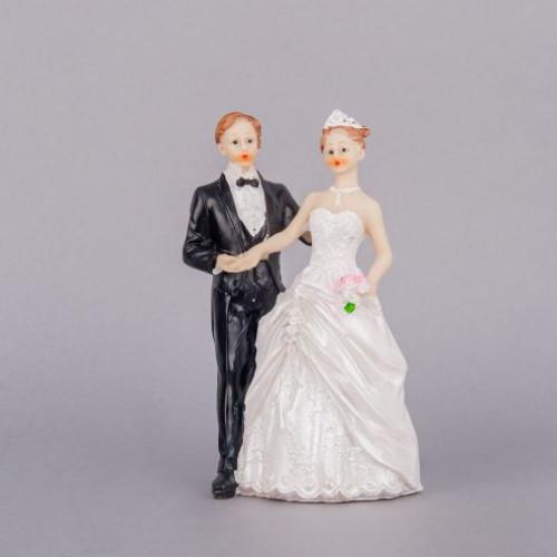 Figurina tort nunta miri in stil clasic