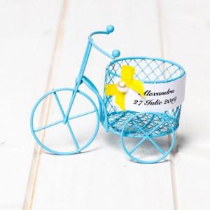 Marturii botez baieti biciclete sarma bleu