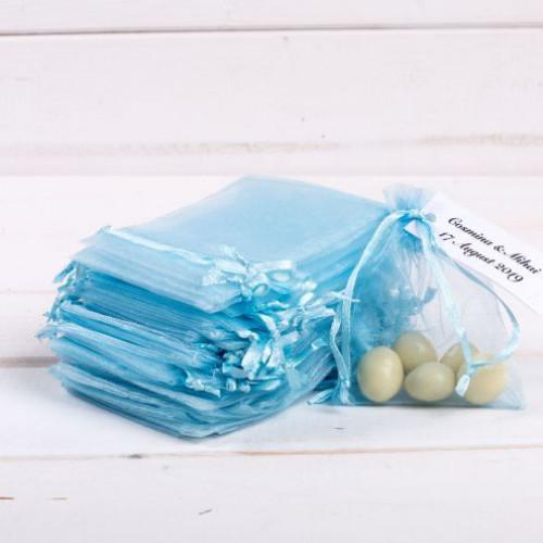 Marturii nunta saculeti bleu medii