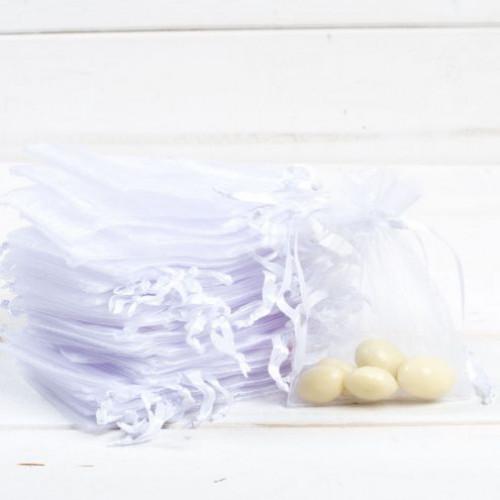 Marturii nunta saculeti albi mari