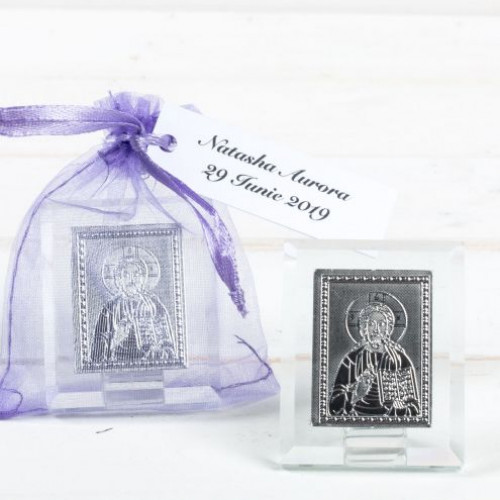 Marturii nunta iconite Iisus Hristos in saculet