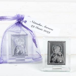 Marturii botez iconite Iisus Hristos in saculet