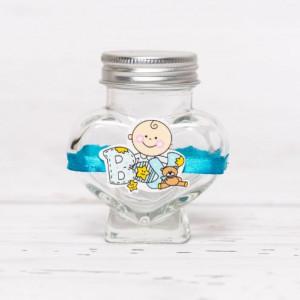 Sticluta de mir inima cu figurina BOY