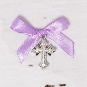 Cruciulite botez biserica cu fundita lila