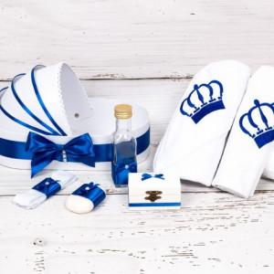 Trusou botez in landou coroana albastra