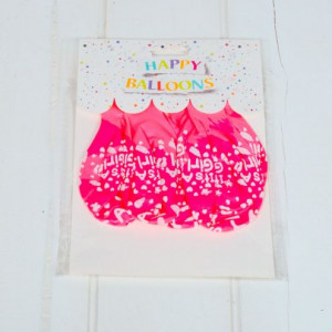Set roz baloane pentru fetite