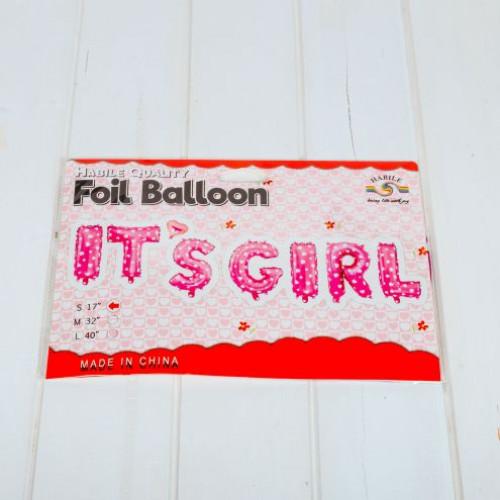 Baloane petrecere It s girl roz