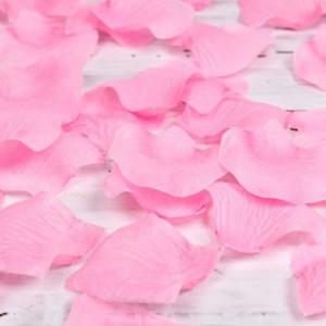 Petale trandafiri roz nunta