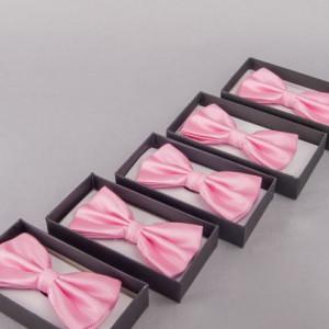 Set 5 papioane roz pentru cavaleri onoare