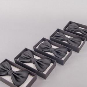 Set 5 papioane negru striat pentru cavaleri onoare