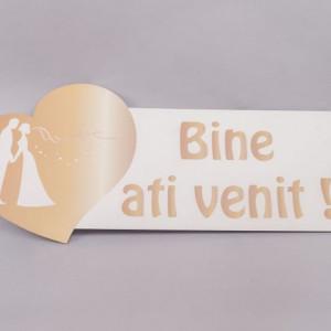 Decor nunta Bine ati venit