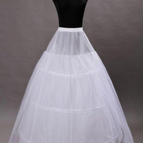 Jupon rochie de mireasa printesa cu doua cercuri