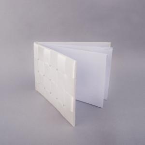 Set caiet impresii patratele cu suport si pix