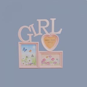 Rama foto roz Girl