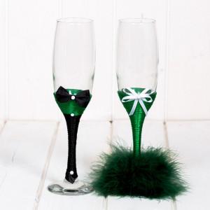 Set pahare verde nasi