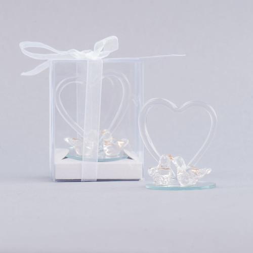 Marturii nunta porumbei sticla