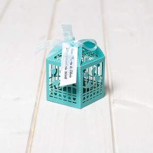 Marturii botez cutiute vrabii si inimi bleu