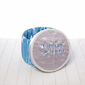 Cutie trusou bleu Cu drag de la nasi