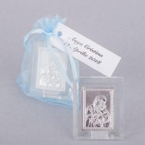 Marturii nunta iconite Maica Domnului in saculet