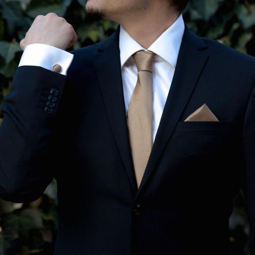 Set maro cravata, batista si butoni camasa