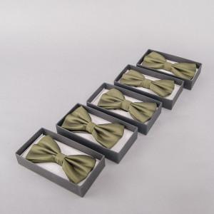 Set 5 papioane verde inchis pentru cavaleri onoare