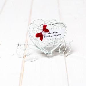 Marturii nunta sarma alba caleasca inima